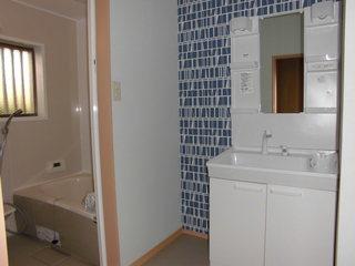 浴室と洗面室